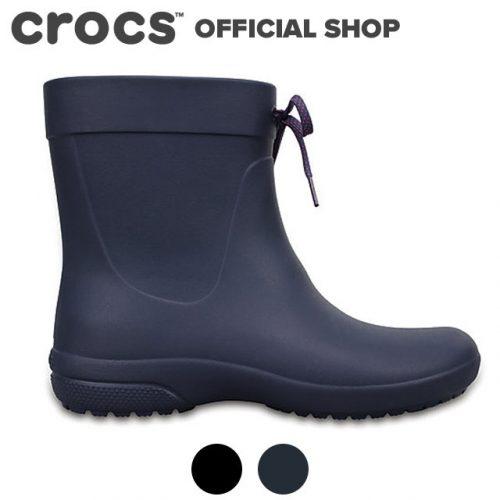 クロックス(crocs) フリーセイルショーティーレインブーツ ウィメンズ