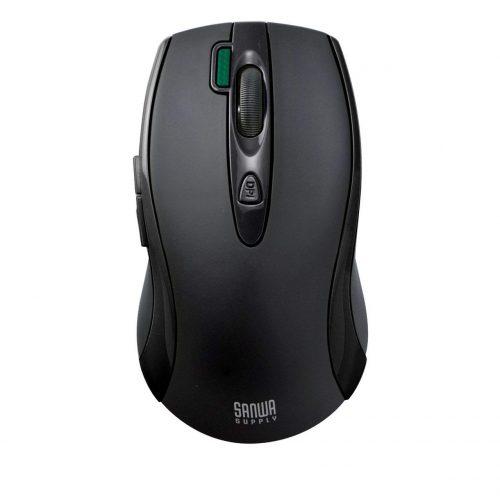 サンワサプライ(SANWA SUPPLY) バッテリーフリーワイヤレスマウス MA-WHNB4BK