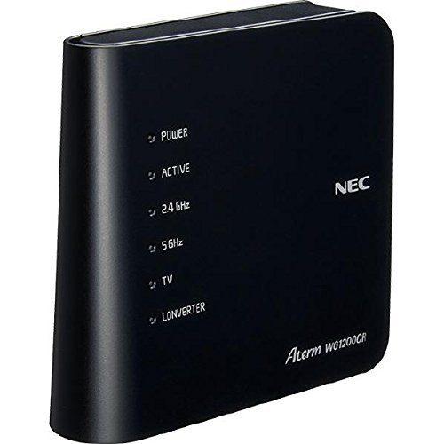 日本電気(NEC) 無線LANルーター PA-WG1200CR