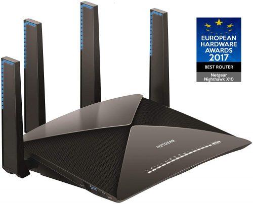 ネットギア(NETGEAR) WiFi無線LAN親機ルーター R9000-100JPS