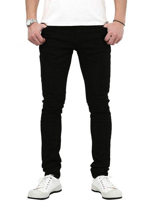 ヌーディージーンズ(Nudie Jeans) スキニーリン Black Black