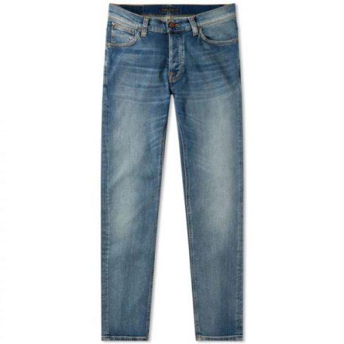 ヌーディージーンズ(Nudie Jeans) デュードダン Steel Indigo