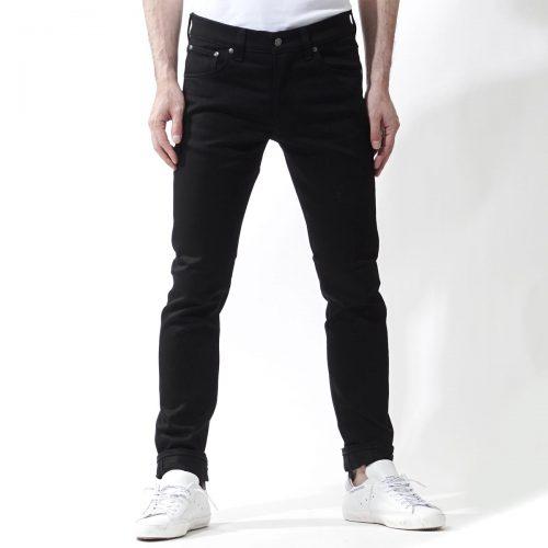ヌーディージーンズ(Nudie Jeans) ティルテッドトール Dry Cold Black