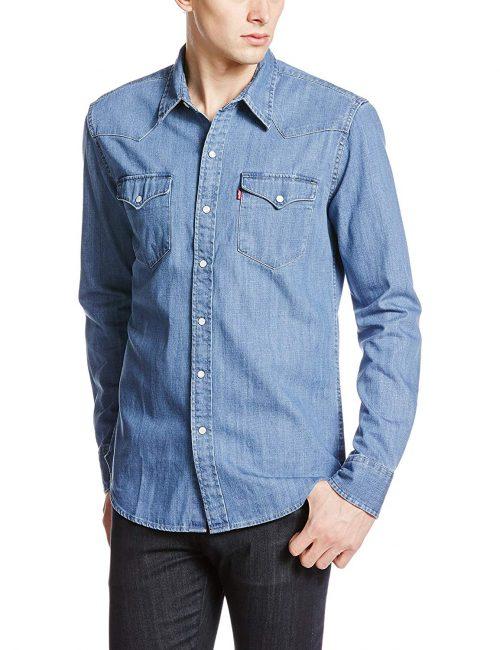リーバイス(LEVI'S) クラシックウエスタンダンガリーシャツ
