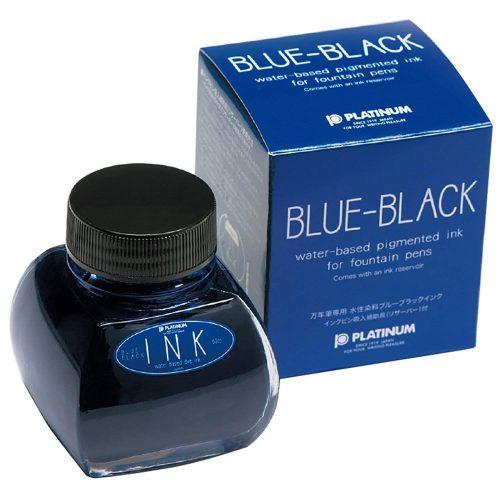 プラチナ万年筆(PLATINUM) 万年筆用 瓶インク ブルーブラック INK-1200 #3