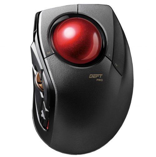 エレコム(ELECOM) トラックボールマウス DEFT PRO M-DPT1MRXBK