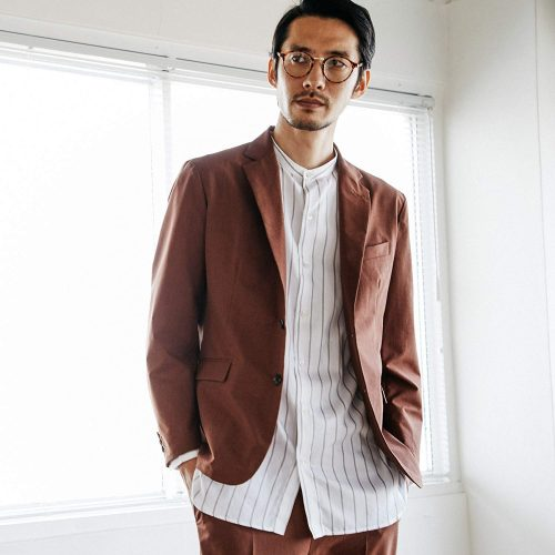 ティーケー タケオキクチ(tk.TAKEO KIKUCHI) COOL DOTSストレッチジャケット
