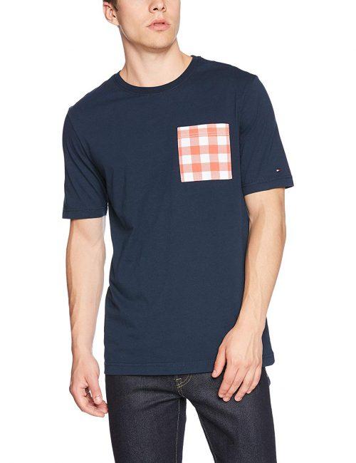 トミー ヒルフィガー(TOMMY HILFIGER) チェックポケットTシャツ