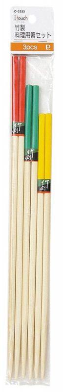 パール金属(PEARL METAL) i.touch 竹製料理用箸セット C-3355