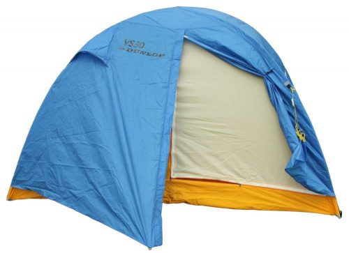ダンロップテント(DUNLOP) コンパクト登山ドームテント 5人用