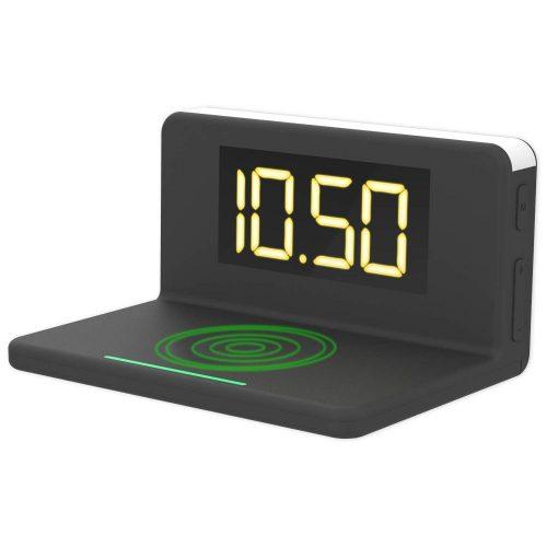 xingmeng デジタル置き時計 ワイヤレス充電器