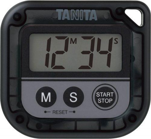 タニタ(TANITA) デジタルタイマー 丸洗いタイマー100分計 TD-376N