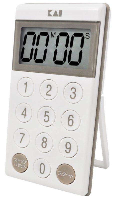 貝印(KAI) デジタルタイマー 音量2段階切り替え DK2390