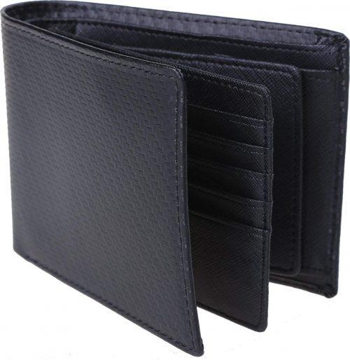 レガーレ(Legare) カーボンレザー 二つ折り財布