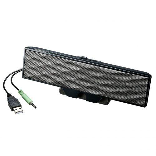 サンワサプライ(SANWA SUPPLY) USB電源サウンドバースピーカー MM-SPL11UBK