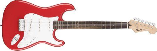 スクワイヤー(Squier) Bullet Stratocaster Hard Tail Rosewood Fingerboard Fiesta Red