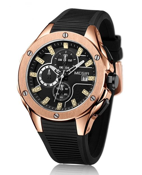 メギア(MEGIR) クロノグラフ腕時計