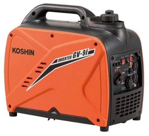 工進(Koshin) インバーター発電機 GV-9i