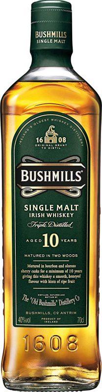 ブッシュミルズ(BUSHMILLS) 10年 アイリッシュ シングルモルト