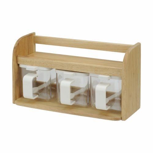 レック(LEC) DELI 木製 クッキングボックス K-957