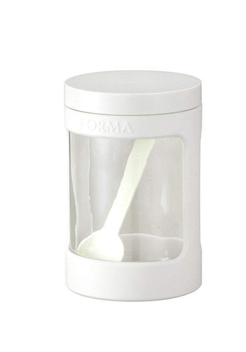 アスベル フォルマ ガラス製 調味料ポット