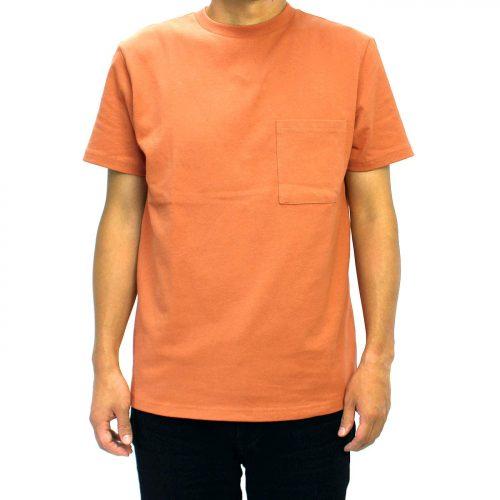 グッドウェア(GOODWEAR) USAコットン無地ポケットTシャツ
