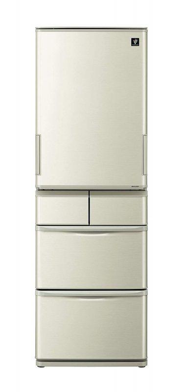 シャープ(SHARP) プラズマクラスター冷蔵庫 412L SJ-W411E