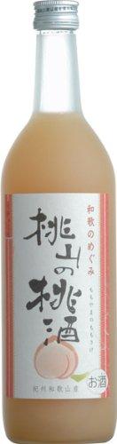 世界一統 和歌のめぐみ 桃山の桃酒