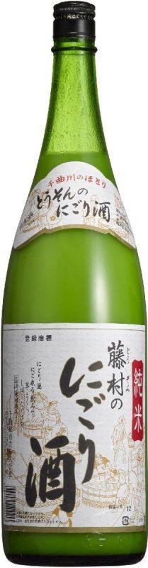 千曲錦酒造 純米 藤村のにごり酒