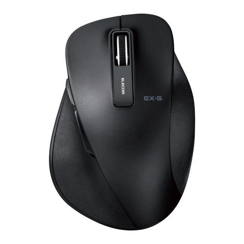 エレコム(ELECOM) 静音EX-G ワイヤレスBlueLEDマウス Lサイズ M-XGL10DBSBK