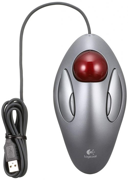 ロジクール(Logicool) 有線4ボタンマウス トラックマンマーブル TM-150r