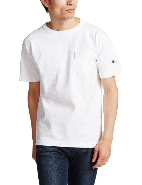 チャンピオン(Champion) ティーテンイレブン ポケット付き US Tシャツ