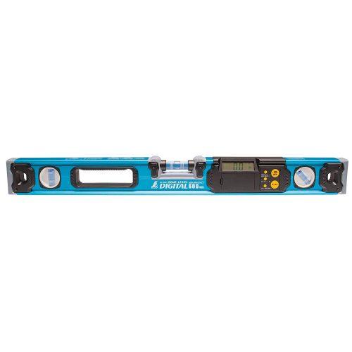 シンワ測定 ブルーレベル デジタル 600mm マグネット付き 76327