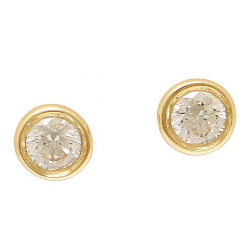 ティファニー(Tiffany & Co.) ダイヤモンド バイザヤード ピアス