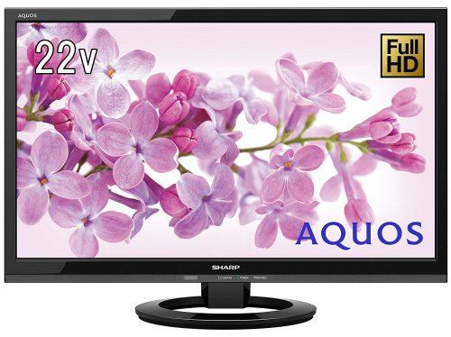 シャープ(SHARP) 22V型フルHD対応液晶テレビ AQUOS LC-22K45-B