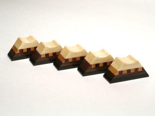 箱根丸山物産 箸置き 富士山 5個セット P0035
