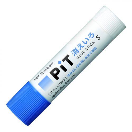 トンボ鉛筆 スティックのり 消えいろPIT S 細塗り PT-TC