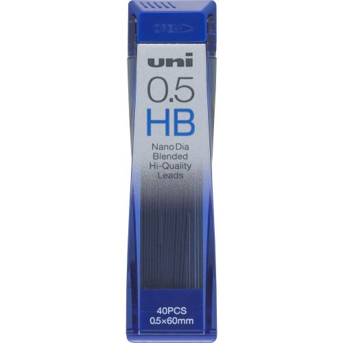 三菱鉛筆 ユニ ナノダイヤ シャープ替芯 0.5mm HB  uni0.5-202ND