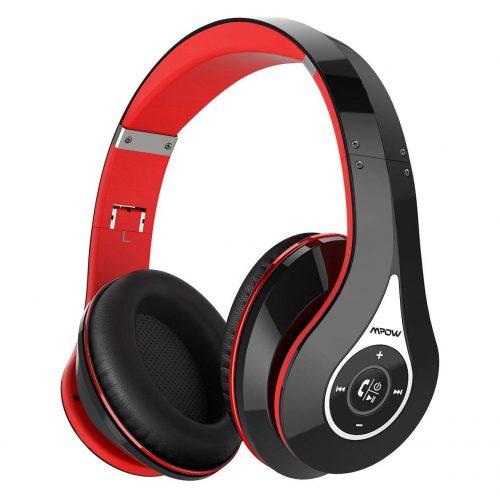 Mpow 密閉型Bluetoothワイヤレスヘッドホン MPBH059AB