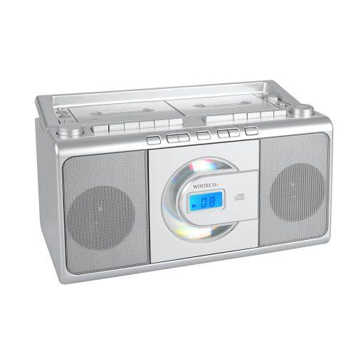 ウィンテック(WINTECH) CDダブルラジカセ CDR-W70