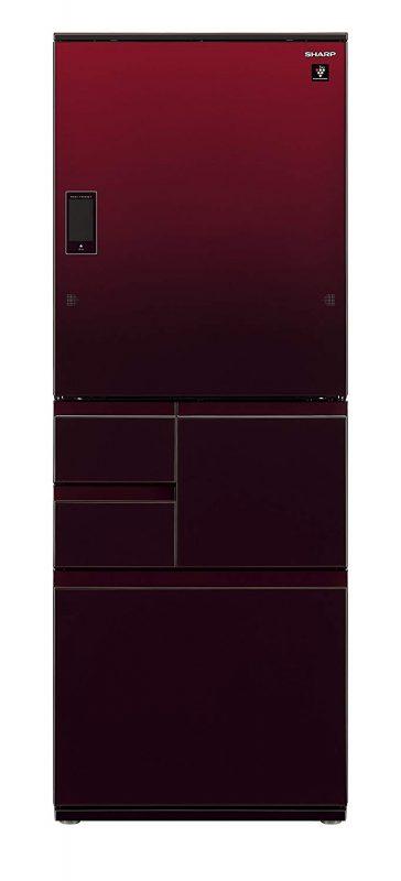 シャープ(SHARP) メガフリーザー 冷蔵庫 502L グラデーションレッド SJ-WX50D