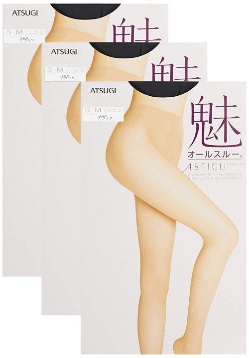アツギ(ATSUGI) ASTIGU オールスルー ストッキング 魅