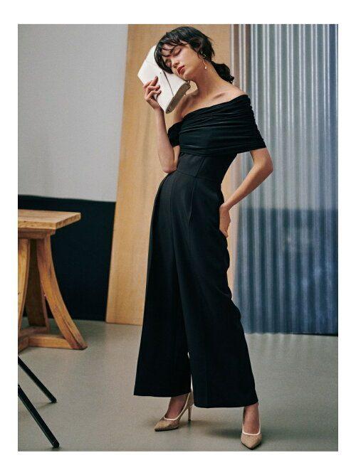 ラグナムーン(LAGUNAMOON) LADYエスパンディラップパンツドレス