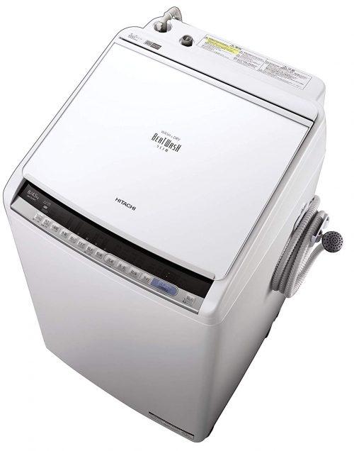 日立(HITACHI) タテ型洗濯乾燥機 ビートウォッシュ BW-DV80C