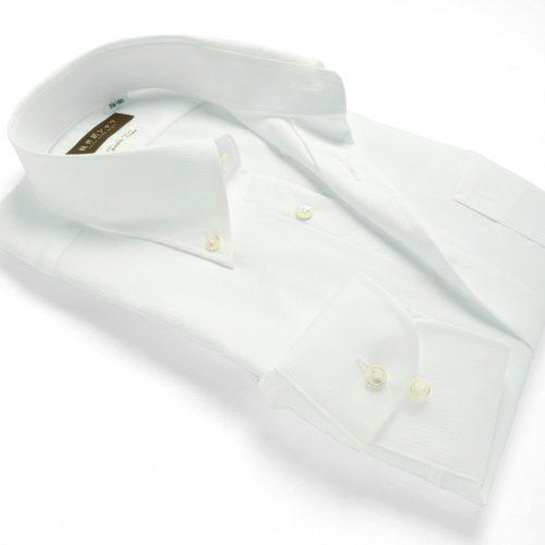 軽井沢シャツ ワイシャツ 長袖 形態安定 メンズ 標準型