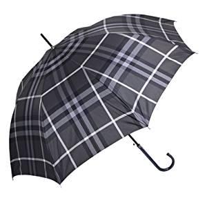 バーバリー(BURBERRY) チェック柄ジャンプ式雨傘