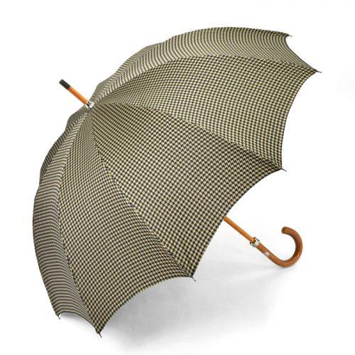 マリアフランチェスコ(Maglia Francesco) 長傘 ネイビーxベージュ 千鳥