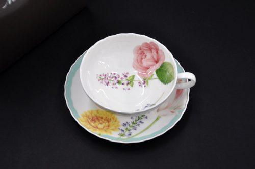 ノリタケ(NORITAKE) ココ フルール ティー碗皿 T58043A 4960