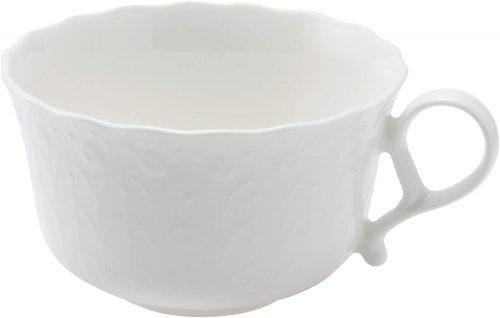 ナルミ(NARUMI) シルキーホワイト ティーカップ&ソーサー 9968-6837P
