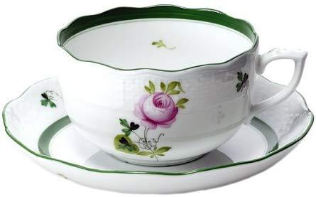 ヘレンド(Herend) ウィーンの薔薇 ティーカップ&ソーサー